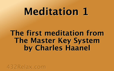 Meditation Exercise 1