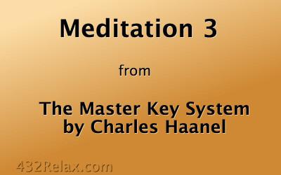 Meditation Exercise 3