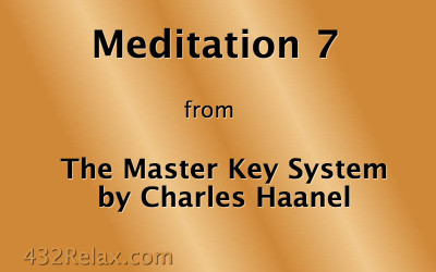 Meditation Exercise 7