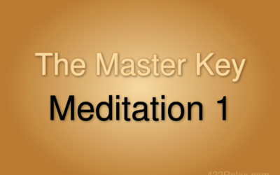 Meditation Exercise 1