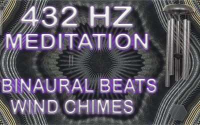 FREE Wind Chime Meditation with 432 HZ Isochronic Tones and Binaural Beats