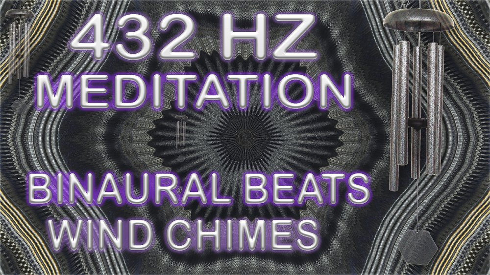 FREE 432 HZ Wind Chime Meditation with Isochronic Tones and Binaural Beats - A 20 minute relaxation/meditation video made using musical wind chimes, 432 HZ Isochronic Tones and Binaural Beats. Can be used with or without headphones. #432Relax
