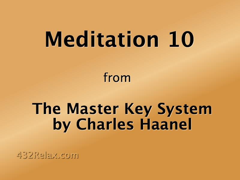 Meditation 10