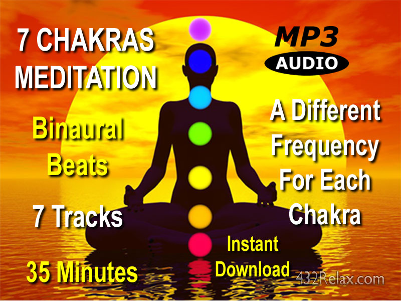 7 Chakras Clearing Meditation 35 Minute Cover Art