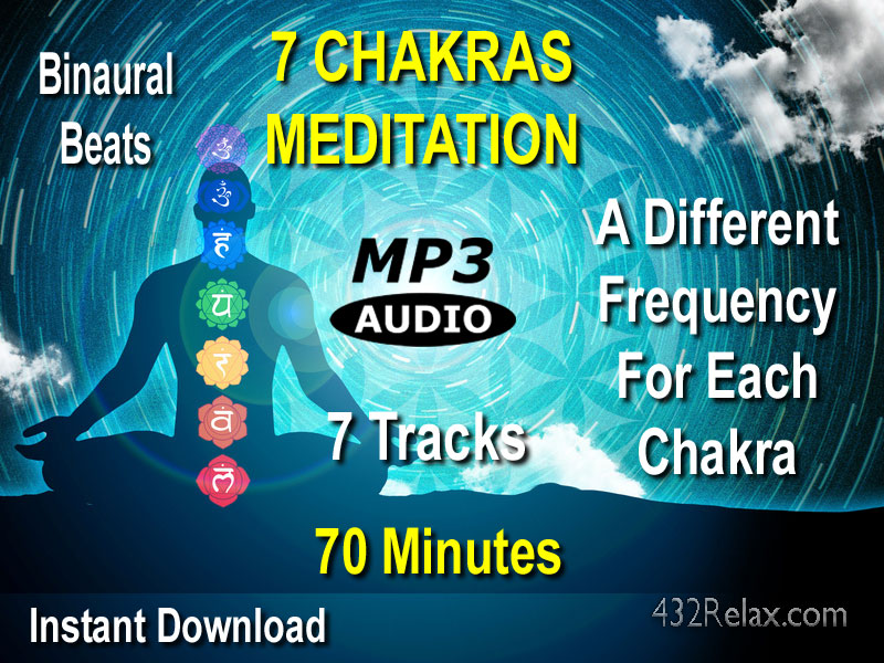 7 Chakras Clearing Meditation 70 Minute Cover Art