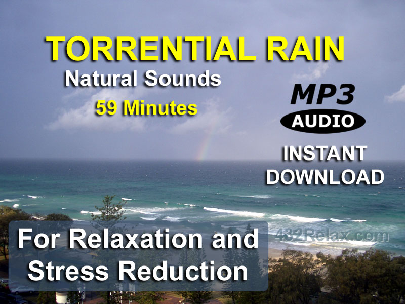 Torrential Rain Relaxation MP3