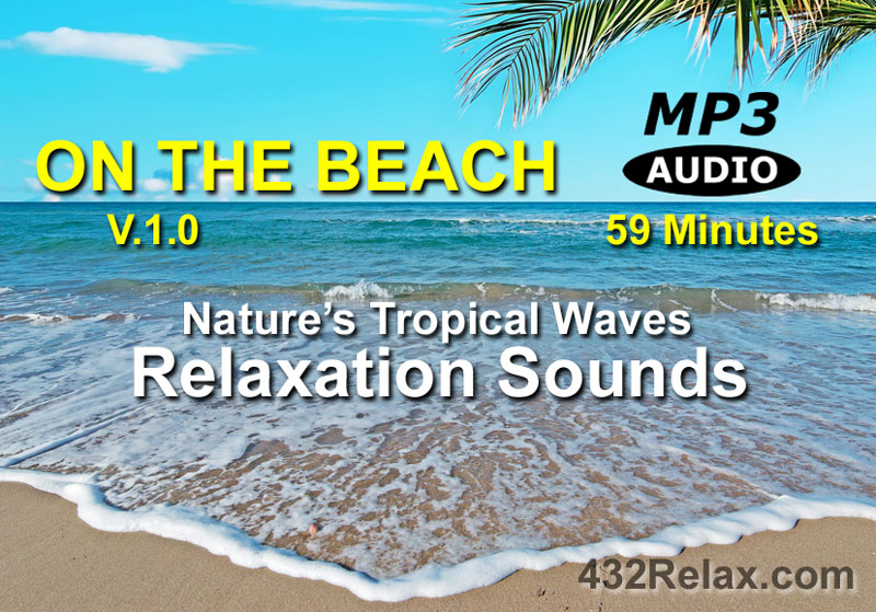 On The Beach Tropical Waves Relaxation Sounds MP3