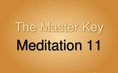Meditation Exercise 11