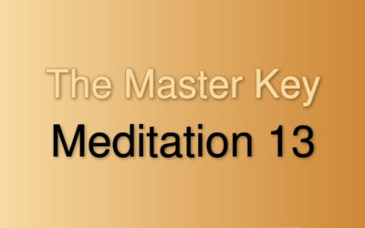 Meditation Exercise 13
