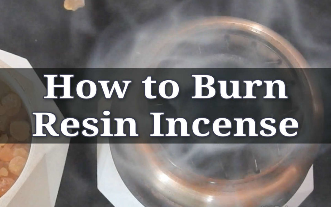 How To Burn Resin Incense on Charcoal